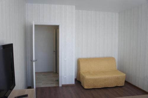 A seating area at апартаменты в Домодедово