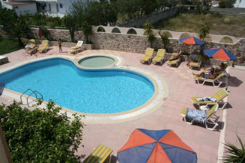 A view of the pool at Sevastos Studios or nearby