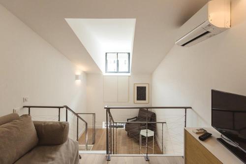 A seating area at Residence Tonduti