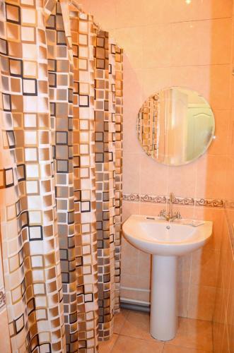 Ванная комната в Гостиница Веда