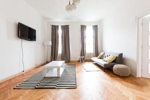 TV/Unterhaltungsangebot in der Unterkunft Spacious Apartments Andel