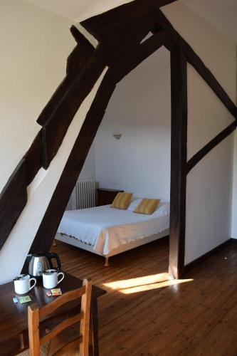 Un ou plusieurs lits dans un hébergement de l'établissement Abbaye de Valloires