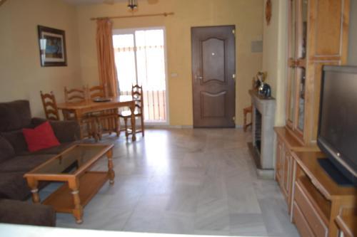 Zona de estar de Casa Castillo by Rafleys
