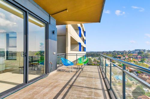 Balcone o terrazza di Top Wonderland Serviced Apartments Airport