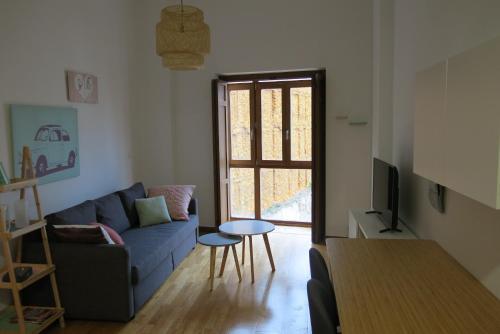 Zona de estar de Apartamento Duque