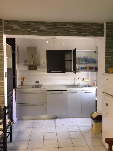 A kitchen or kitchenette at Casa Vacanza