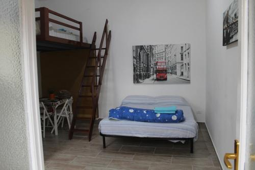A bed or beds in a room at Da Ivano Milano Navigli