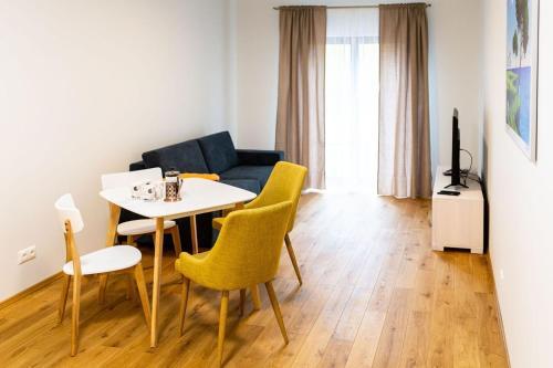 Svetainės erdvė apgyvendinimo įstaigoje OldTown Tartu Apartments