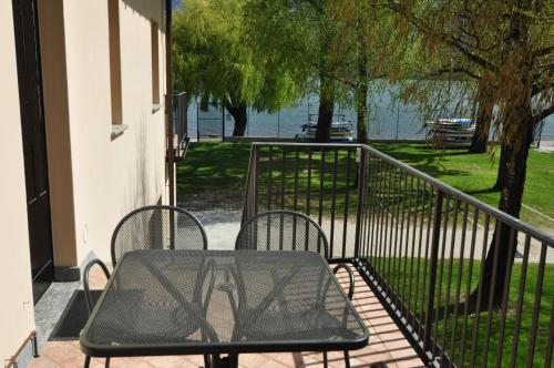 A balcony or terrace at North Wind Camping & Apartment