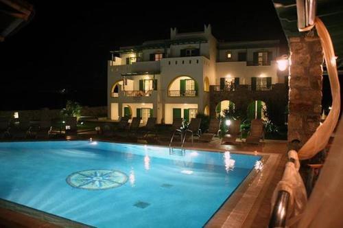 The swimming pool at or near Villa Harmony