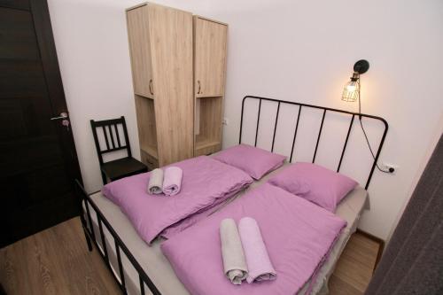 Lova arba lovos apgyvendinimo įstaigoje Apartment N322 Gudauri Loft