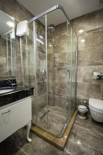 Ванная комната в Antusa Palace Hotel & Spa