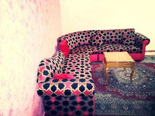 O zonă de relaxare la Al Khalile Apartment