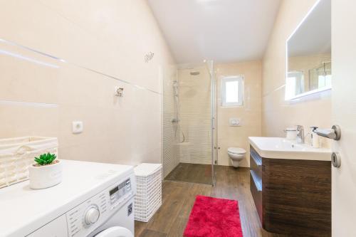 Koupelna v ubytování Apartment 4you