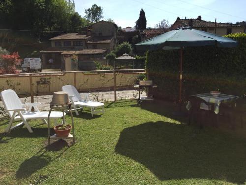 Casa Lorenzoにある庭