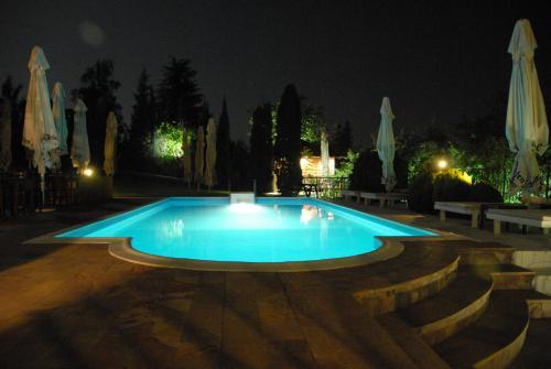 "The swimming pool at or near Hobby Park Holiday Villa ""Mala Ivanca"""