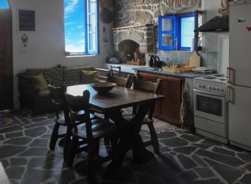 A kitchen or kitchenette at Maria Eliza