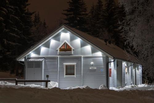 Vuokatinmaa Holiday Apartments im Winter