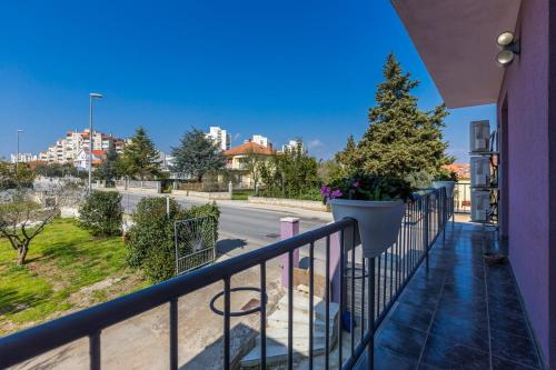 A balcony or terrace at Apartments Jere
