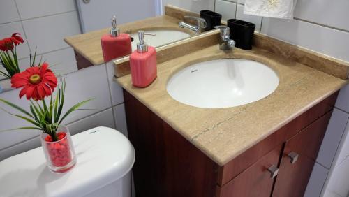 Un baño de Santiago Wine Rent Apartments