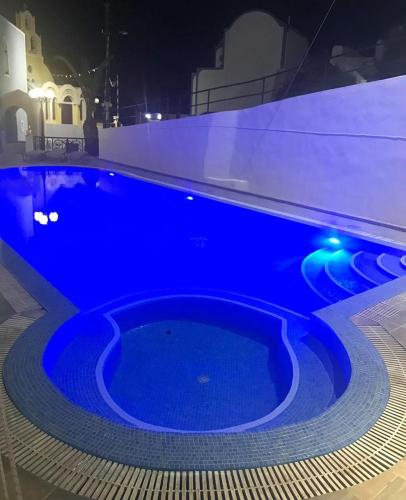 The swimming pool at or near Hotel Hellas