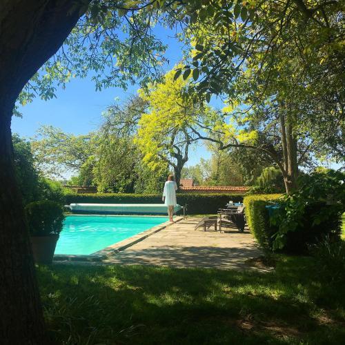 The swimming pool at or near Le Clos de Bénédicte