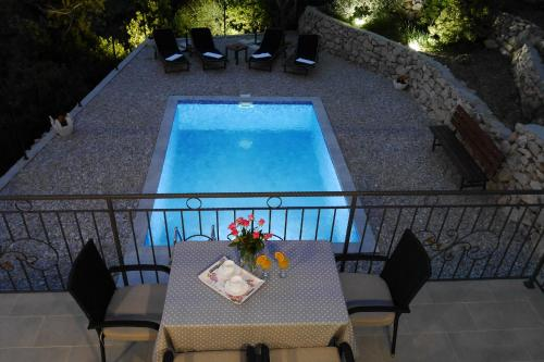 A view of the pool at Villa with Sea View or nearby