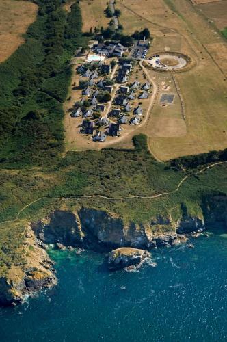 Vue panoramique sur l'établissement VVF Villages « Belle Île en Mer » Le Palais