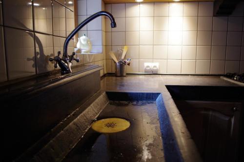 Salle de bains dans l'établissement grand gîte louppy
