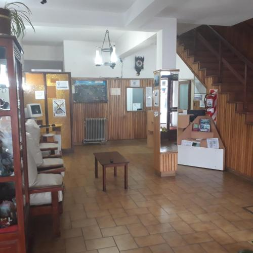 The lobby or reception area at Residencial Ski