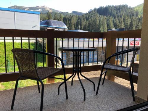 Balkón alebo terasa v ubytovaní Apartman Jasná Lúčky