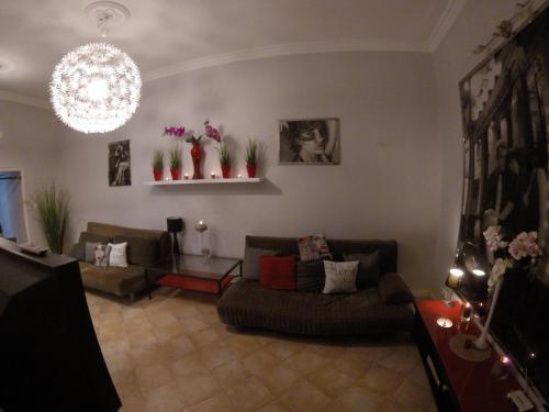 A seating area at Apartamenty Sopot Centrum