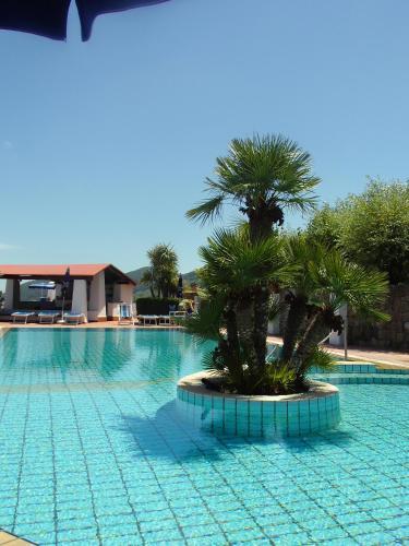 The swimming pool at or near Poggio Aragosta Hotel & Spa