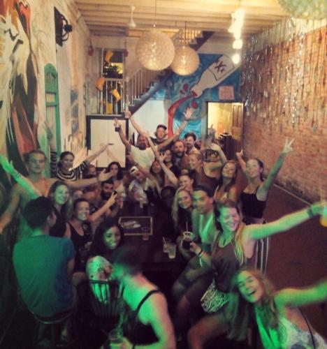 Hosté ubytování Tipsy Tiger Party Hostel