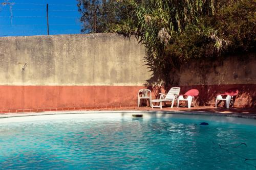 The swimming pool at or near Shepinetree - Capela House