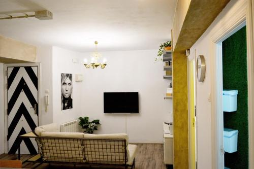 A television and/or entertainment center at House of Art