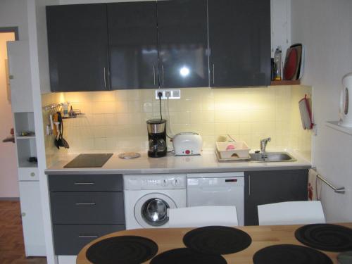 Cuisine ou kitchenette dans l'établissement Appartements Vacances Dinard