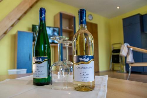 Getränke in der Unterkunft Ferienwohnungen Scheid Volker
