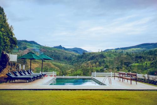 The swimming pool at or near Amaya Langdale