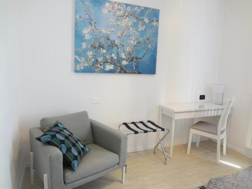 A seating area at Bea's Home Milano
