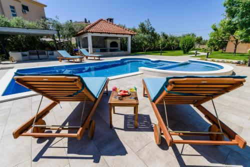 The swimming pool at or near Villa with pool