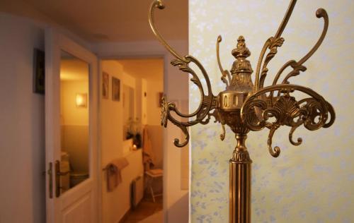 A bathroom at Romantic Apartment Prague