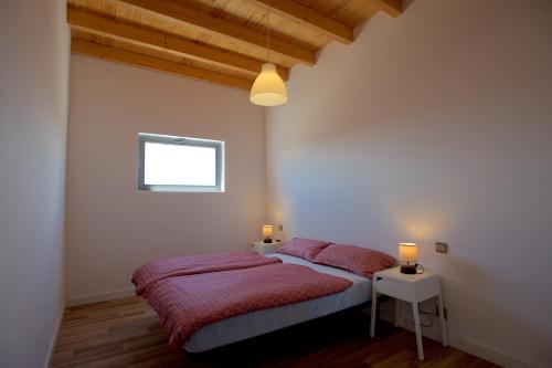 Кровать или кровати в номере Molino de el Roque