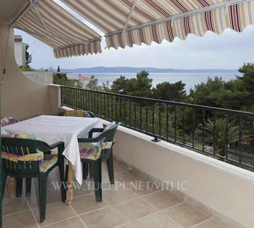 Balkon ili terasa u objektu Apartmani Drago