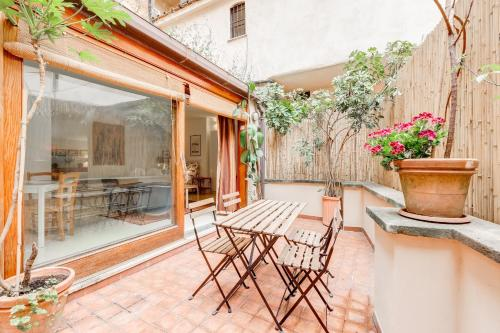 A porch or other outdoor area at Al Portico 39 apartment with terrace