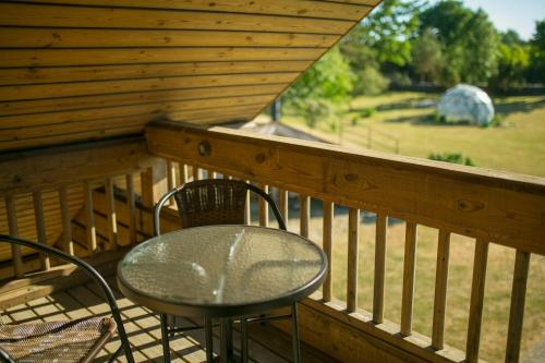 A balcony or terrace at Kangru Holiday Home