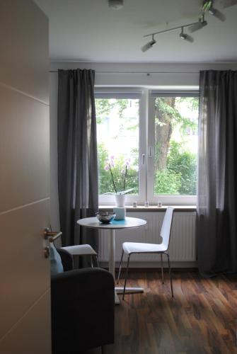 A seating area at Bonn Stadt-Appartement