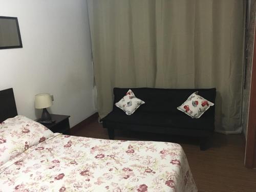 Cama o camas de una habitación en Departamento San Diego 1