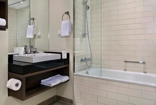 Ein Badezimmer in der Unterkunft Citadines City Centre Frankfurt