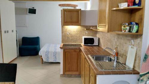 A kitchen or kitchenette at Antica Darsena